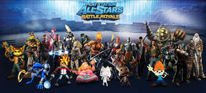 PlayStation All-Stars Battle Royale by PacDuck