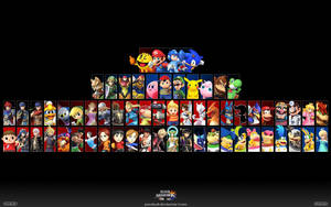 Super Smash Bros. Wii U/3DS Wallpaper 2 by PacDuck