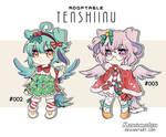 [Adopt Auction] Tenshiinu batch XMas ver [ OPEN ] by Kanomatsu
