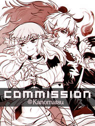 CM : Emil and Vera [ INKING ] by Kanomatsu