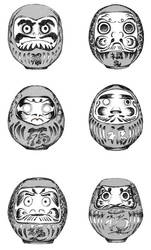the daruma of darumafish by paladinknight