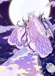 Sayuri versus the Oni by paladinknight