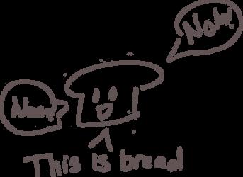 Bread Doodle by Broccosparagus