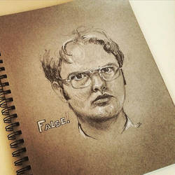 Dwight Schrute by 73SandyBee