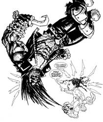 Jenny Quantum vs The Main Man by Faezal