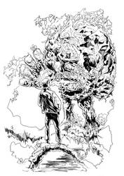 Swamp Thing by Faezal