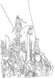 Evening Rumours: Legends of Selat Tebrau by Faezal
