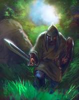 Warrior of Cross by EGOR-URSUS