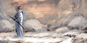Blood on snow by EGOR-URSUS