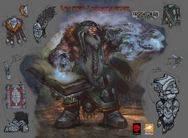 Leader-Loremaster ( tier 2) by EGOR-URSUS