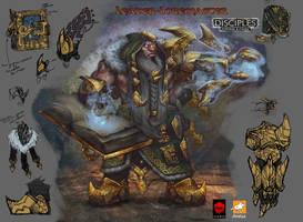 Leader-Loremaster ( tier 3) by EGOR-URSUS