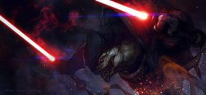 Star Effect - Krogan Sith by EGOR-URSUS
