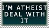 Atheist 1 by KingBradders