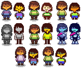 Sprite Experiments by LittleDreamspirit