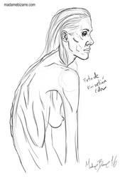 Anorexia 2 by madamebizarreartwork