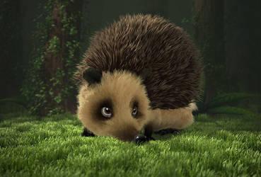CGshpere - Hedgehog by Magena77
