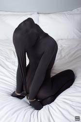 Cuffed in black nylon 9 by okt0br