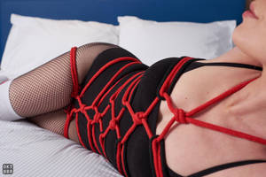Red and black rope 4 by okt0br