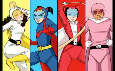 Sooga Super Squad! by LittleKidsin