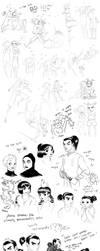 Pucca Sketch Dump by LittleKidsin