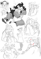 Tobecca Sketches by LittleKidsin