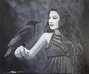 Raven heart by SimonHagberg