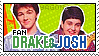 Drake and Josh Stamp by Yagoni