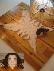 The Human Skin Rug by Chrissy Conant by Squishjunkie