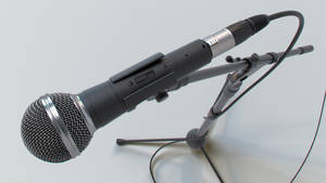 Microphone - SM58 - 03 by Dante-mL