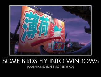 Some Birds by PhantomGirl