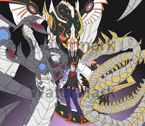 Yugioh Fanart Commission by CruxAshes