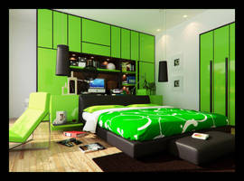 greenbedroom by Romi3D