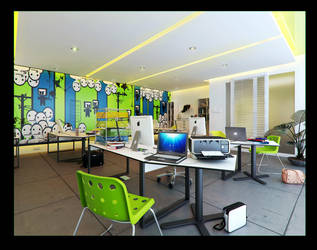 classroom by Romi3D