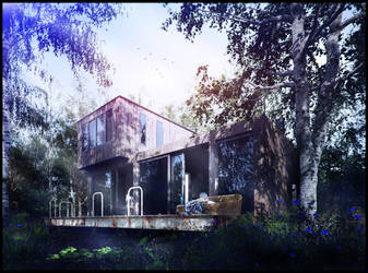 nature house exterior by Romi3D