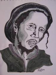 Bob Marley by TheZionChild