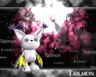 Tailmon-3d by RhapzJPC