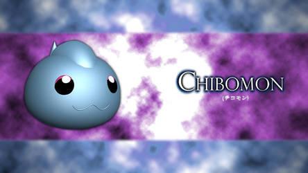 Chibomon 3d by RhapzJPC
