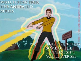Star Trek TAS Ad by Volts48