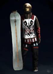 Snowboarder by Chestbearman