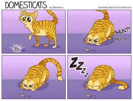 DomestiCats - Hunting by ShinePawArt