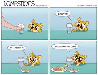 Domesticats - Needs by ShinePawArt