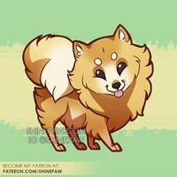 Chibi pom by ShinePawArt
