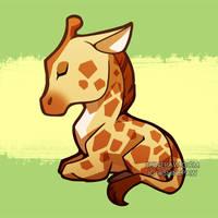 Giraffe chibi by ShinePawArt