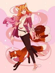 Kita, the Kitsune by ShinePawArt