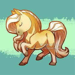 Horse Chibi by ShinePawArt
