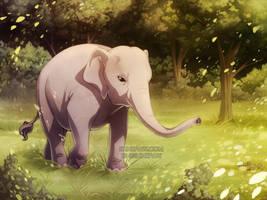 Elephant - Commission by ShinePawArt