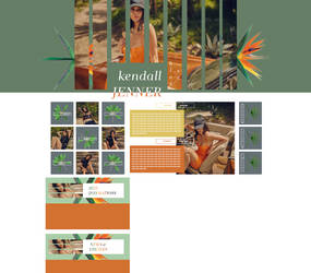 PREMADE LAYOUT   ft. Kendall Jenner by flamekeepers