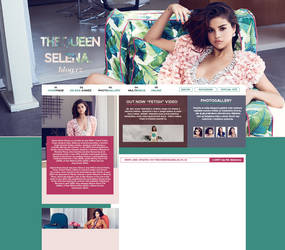 THEQUEENSELENA.BLOG.CZ   layout for my site by flamekeepers