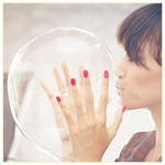 girl and bubble by renansa
