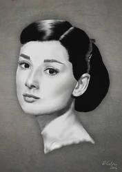 Audrey Hepburn by TheBigDaveC